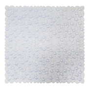 AttractionDesignHome Non-Slip Bath Mat; White