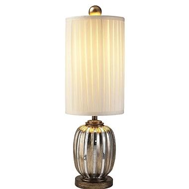 OK Lighting Dubai Tiles 33'' Table Lamp