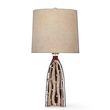 OK Lighting Sunset Ripples 27.5'' Table Lamp