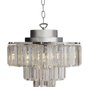 River of Goods Cascading 3-Light Crystal Chandelier