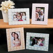 FashionCraft 4 Piece Delicate Pastle Picture Frame Set