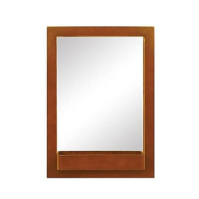 DecoLav Haddington Accent Mirror; Cherry