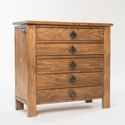 Hives & Honey Taylor Jewelry Armoire w/ Mirror; Rustic Pine