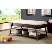 A&J Homes Studio Narnia Cushion Upholstered Storage Entryway Bench