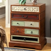 A&J Homes Studio Laurel Swivel Cabinet
