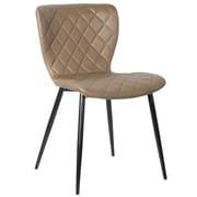 Porthos Home Parson Chair (Set of 2); Milk Chocolate