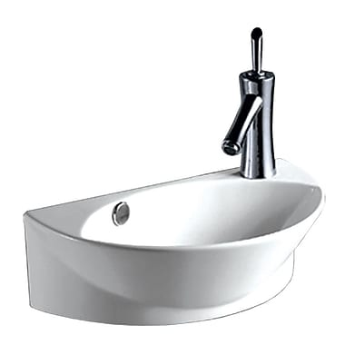 Whitehaus Collection Isabella 17.38'' Wall Mount Bathroom Sink