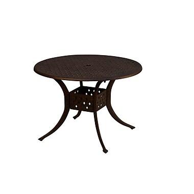California Outdoor Designs La Jolla Dining Table; 48'' L x 48'' W
