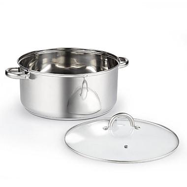 Cook N Home 12.5-qt. Stock Pot w/ Lid