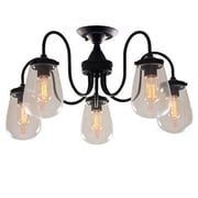 LightingWorld 5 Light Semi Flush Mount