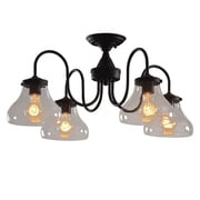 LightingWorld 4 Light Semi Flush Mount