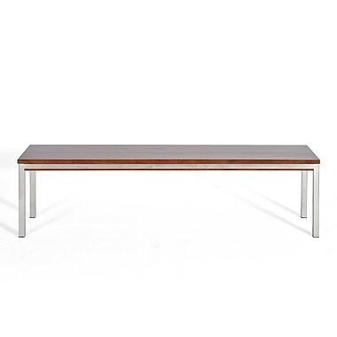 Gingko Home Furnishings Soho Wood and Metal Dining Bench