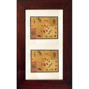 Concealed Cabinet Recessed Picture Frame Medicine Cabinet; Espresso