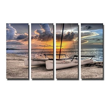 Ready2hangart 'Destination Fixation' by Bruce Bain 4 Piece Photographic Print on Canvas Set