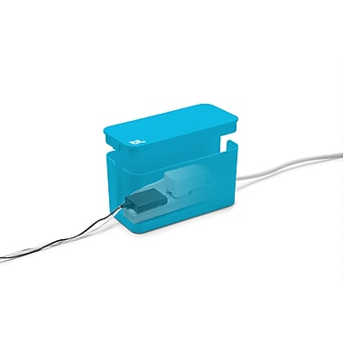 Bluelounge – Mini Cablebox, bleu (CBMBLU)