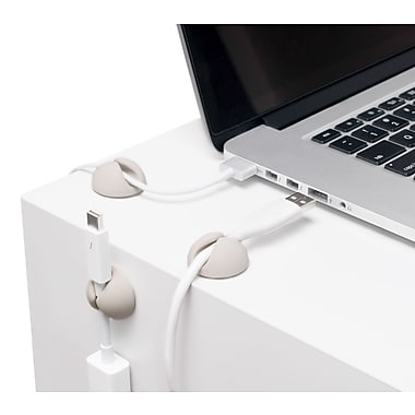 Bluelounge Mini CableDrop, White, (CDMWH)