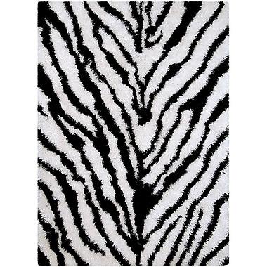 AllStar Rugs Zebra Area Rug; Rectangle 4'11'' x 7'