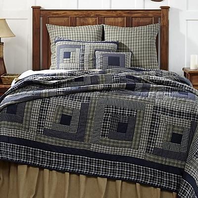VHC Brands Columbus Quilt; Luxury King