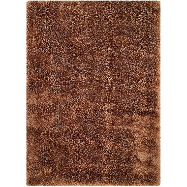 AllStar Rugs Light Brown Area Rug; 4'11'' x 7'