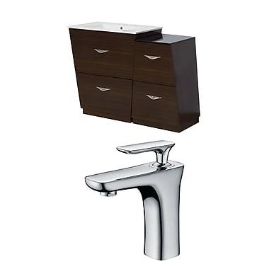 American Imaginations Vee 41'' Single Bathroom Vanity Set