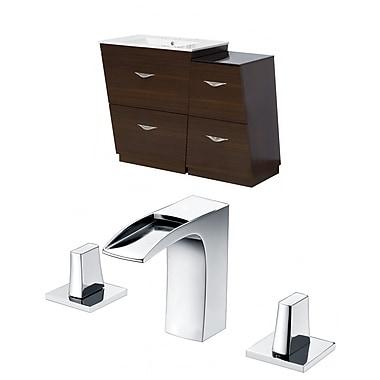 American Imaginations Vee 44'' Single Bathroom Vanity Set