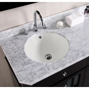American Imaginations Round Undermount Bathroom Sink