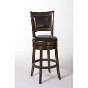 Hillsdale Lockefield 30'' Swivel Bar Stool