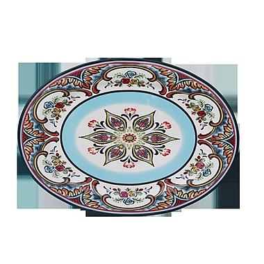 Euro Ceramica Zanzibar Oval Platter