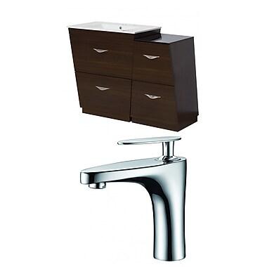 American Imaginations Vee 40.5'' Single Bathroom Vanity Set