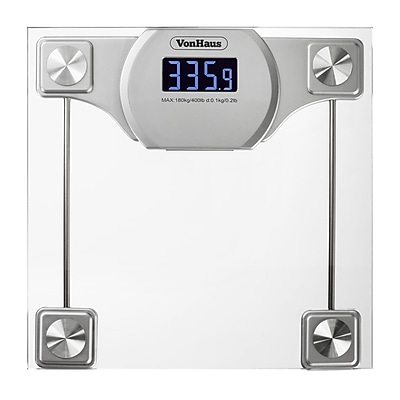 VonHaus Digital Bathroom Weight Scale