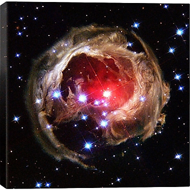 iCanvas Astronomy and Space V838 Monocerotis Graphic Art on Canvas; 26'' H x 26'' W x 0.75'' D