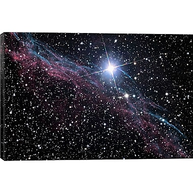 iCanvas Astronomy and Space Veil Nebula (NASA) Graphic Art on Canvas; 40'' H x 60'' W x 1.5'' D