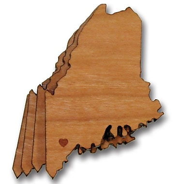 Richwood Creations Maine Cut Out Coaster (Set of 4)