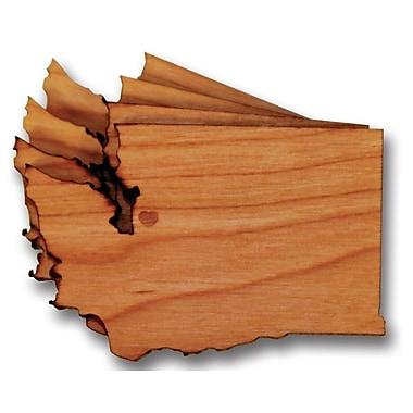 Richwood Creations Washington Cut Out Coaster (Set of 4)