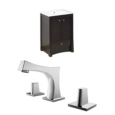 American Imaginations Elite 24'' Single Bathroom Vanity Set