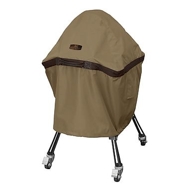 Classic Accessories Hickory Heavy-Duty Ceramic Grill Cover; Large