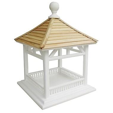 Home Bazaar Classic Series Dream House Decorative Tray Bird Feeder