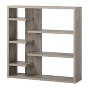 Homestar 43'' Accent Shelves Bookcase; Reclaimed Wood