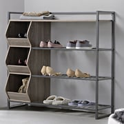 Homestar 4-Tier Shoe Rack