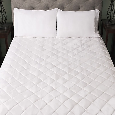 Sweet Home Collection Snuggle Home 1.2'' Memory Foam Mattress Pad; Queen