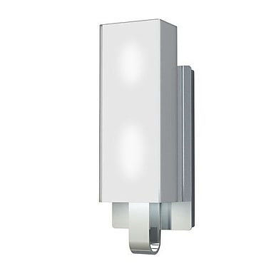 Kendal Lighting Larissa 2-Light Bath Bar; Chrome