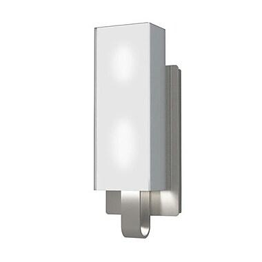 Kendal Lighting Larissa 2-Light Bath Bar; Satin Nickel