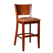 Benkel Seating Winston 24'' Bar Stool; Medium Oak