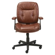 Oif High-Back Leather Desk Chair