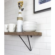 Tronk Design Adams Shelf Bracket (Set of 2); Black