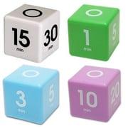 Datexx 4 Piece Cube Timer Set