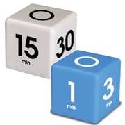 Datexx 2 Piece Cube Timer Set