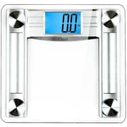 Ozeri ProMax 500 lbs (230 kg) Digital Bath Scale, w/ Body Tape Measure and Fat Caliper