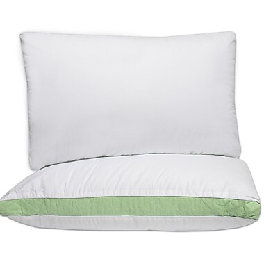 Sweet Home Collection Iso Pedic Hypoallergenic Fill Firm Polyfill Pillow; 20'' H x 30''W