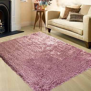 AllStar Rugs Pink Area Rug; Rectangle 4'11'' x 7'